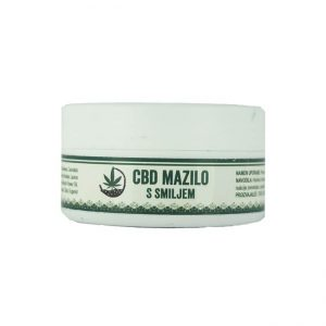 Konopljino mazilo s smiljem Canna Immortelle 30ml 1% CBD