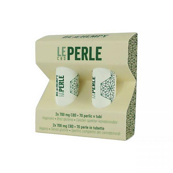 Le perle: slastne granule, obložene s konopljino smolo in CBDjem