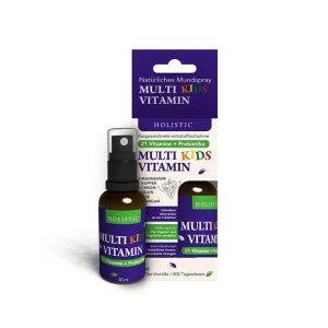 Multi Vitamin za otroke ustno pršilo Holistic 30 ml