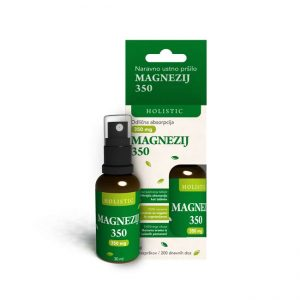 Holistic Magnezij 350, ustno pršilo (30 ml)