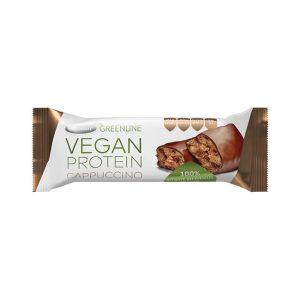Veganska proteinska ploščica: Kapučino