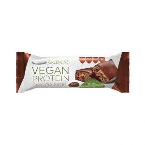 Veganska proteinska ploščica kakavova semena
