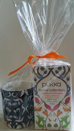 Pukka Darilni paket čaj Herbal collection + skodelica