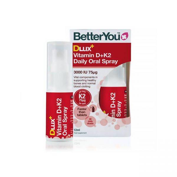 Betteryou DLux Plus, vitamin D3 in K2