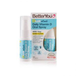 Dlux baby vitamin D v pršilu