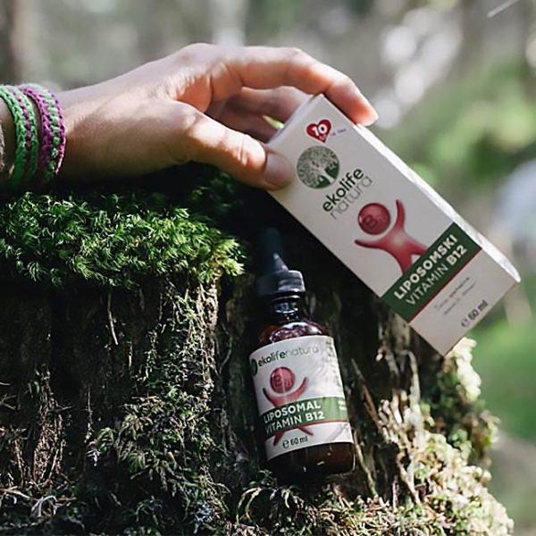Ekolife natura Liposomski vitamin B12 60ml