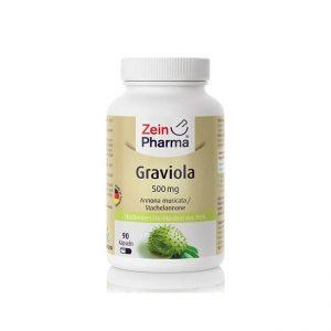 Graviola 500 mg, 90 kapsul