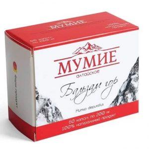 Mumio-Altajsko zlato, 60 kapsul