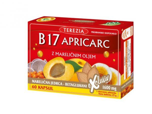 Vitamin B17 Apricarc – 60 kapsul