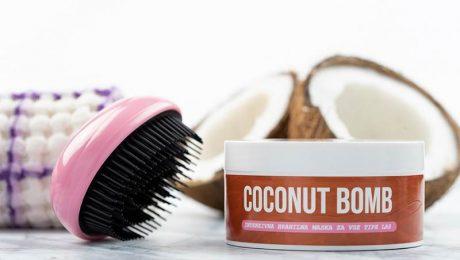 Coconut bomb hranilna maska
