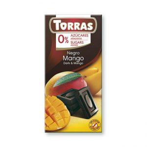 Torras Temna čokolada z MANGOM