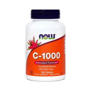 NOW Vitamin C 1000, 100 tablet
