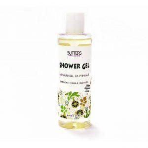 Naravni gel za prhanje limonska trava & rožmarin BUTTERS SHOWER GEL