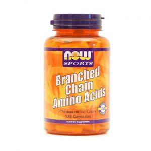 NOW Amino kisline (BCAA), 120 kapsul