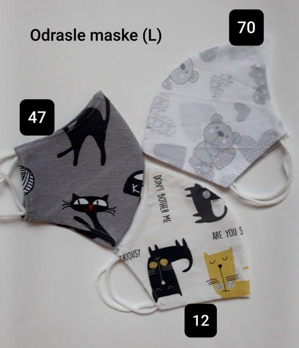 Pralna maska za obraz iz blaga