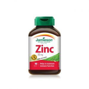 Jamieson Cink 50 mg tablete s podaljšanim sproščanjem