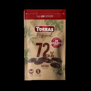 Torras Ploščice iz TEMNE čokolade za kuhanje, 1kg