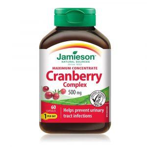 Jamieson Brusnica 500 mg (60 kapsul)