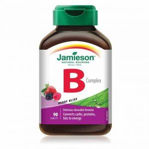 Jamieson B kompleks bomboni z okusom gozdnih sadežev, 90 bombonov