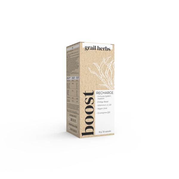 Grail Herbs Immune & Energy System Support 30 kapsul