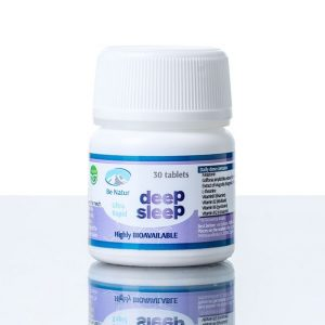 Be Natur Globok spanec - MELATONIN DEEP SLEEP 30 tablet