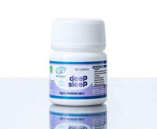 Be Natur Globok spanec - MELATONIN DEEP SLEEP 30 tablet