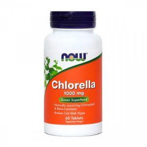 NOW Chlorella, 1000 mg, 60 tablet