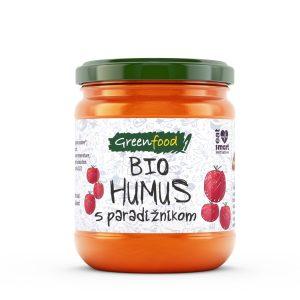 GreenFood Bio humus – paradižnik, 200g