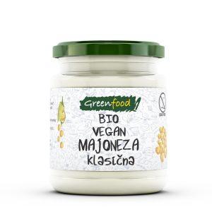 GreenFood Bio majoneza – klasična, 260g