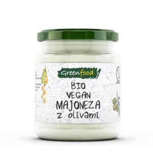 GreenFood Bio majoneza – olive, 260g