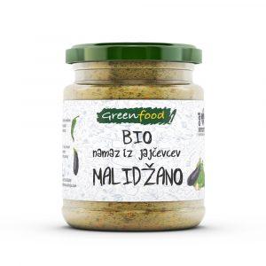 GreenFood Bio namaz iz jajčevcev, 260g