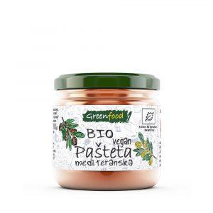 GreenFood Bio pašteta – mediteranska, 145g