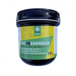 Hemp Light BIO HB ENERGIJA - Kanabidiol z dodatkom brokolija 25 g