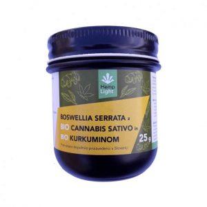 Hemp Light Kanabidiol z dodatkom bosvelije in kurkumina 25 g